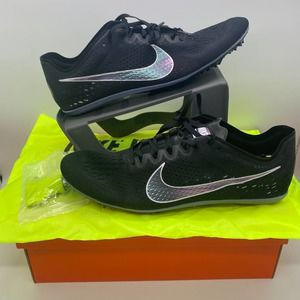 Nike Zoom Victory 3 Track Spikes Black Men Size 13